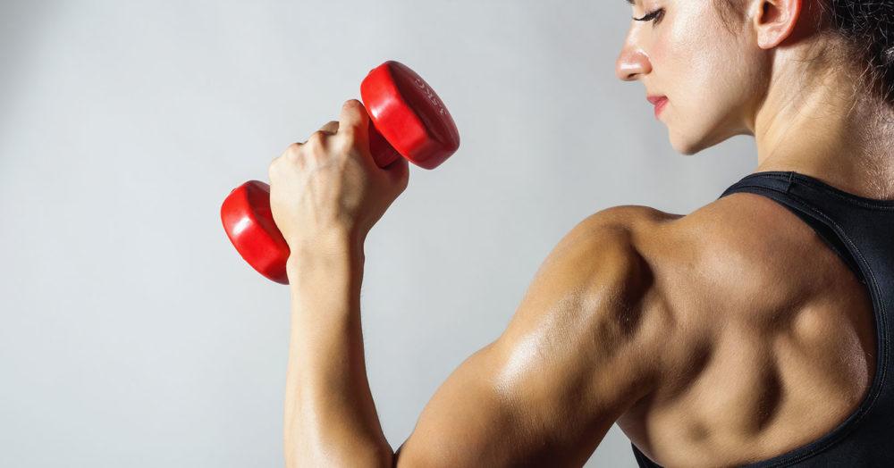 """Det GÅR att äta sig till """"gröna"""" muskler!"""