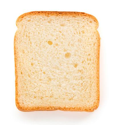 vad väger en brödskiva
