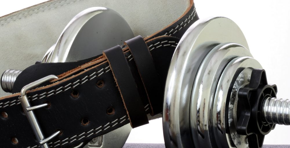 dumbbell weight and weight belt