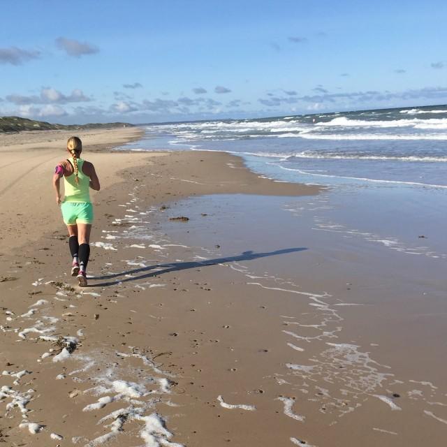 Strandlöpning i Danmark