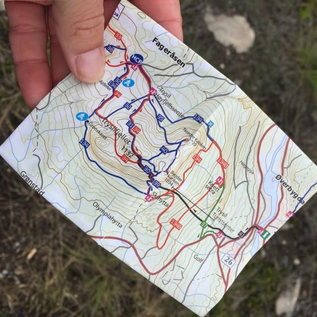 Karta Trysil