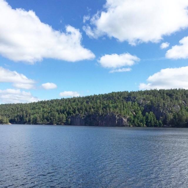 160714 - Ågelsjön klippan