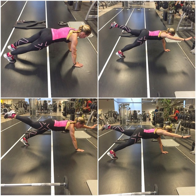 Planka med balans