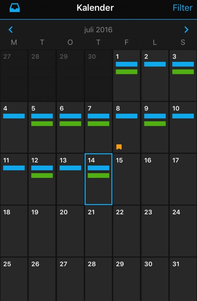 Garmin connect kalender juli