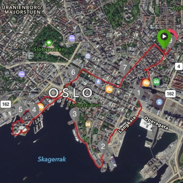 Löpning i Oslo