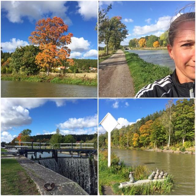 Löpning Göta Kanal