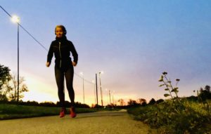 Löpning i gryningen / Löpning i mörker