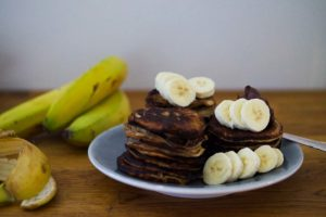 Plättar med banan och nutella - nyttigt recept