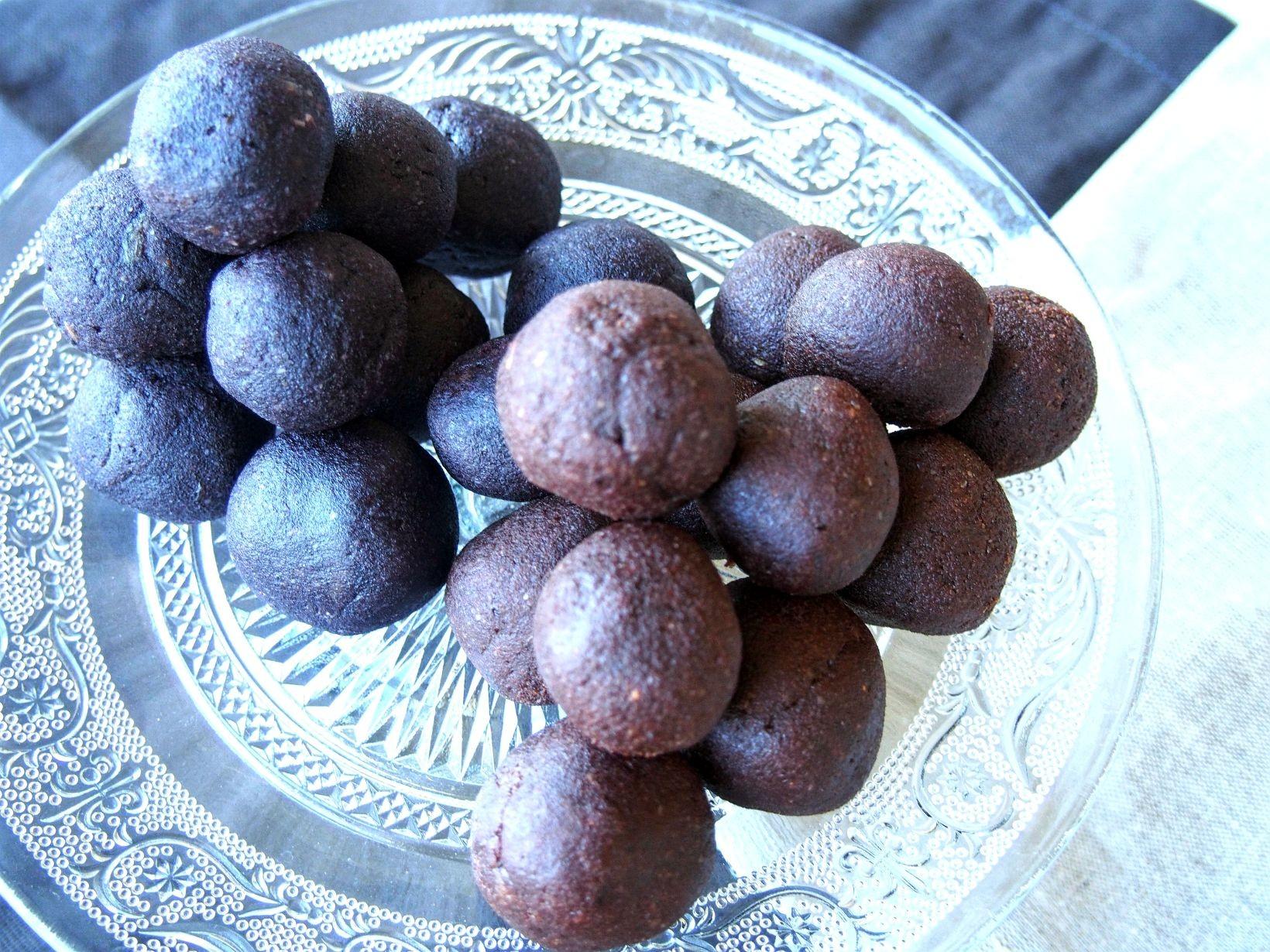 lakrits&blåbärsbollar